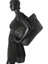 Sac Shopping Totally Royal Cuir Totally Royal Pieces Noir totally royal 17055349-vue-porte