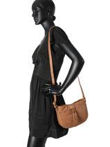 Crossbody Bag Etrier Brown allure EALL05-vue-porte