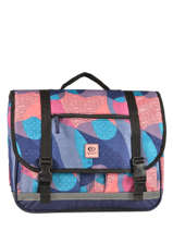 Cartable 2 Compartiments Rip curl Bleu camo LBPMR4
