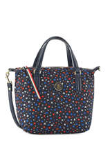 Mini Sac Cabas Poppy Tommy hilfiger Bleu poppy AW04653