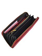 Wallet Leather Etrier Red amazone EMAZ91-vue-porte