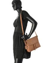 Crossbody Bag Burkely Brown be beauty 532066-vue-porte
