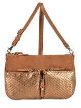 Crossbody Bag Mila louise Brown vintage 3005SEC