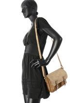 Shoulder Bag Alice Miniprix Brown alice MD123-vue-porte