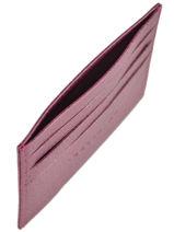 Longchamp Porte billets/cartes Rouge-vue-porte