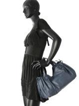 Shopper Gd Leather Gerard darel Blue gd DES07410-vue-porte