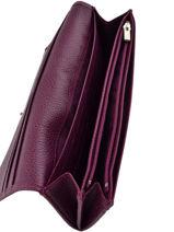 Longchamp Le foulonné All-in-one Violet-vue-porte