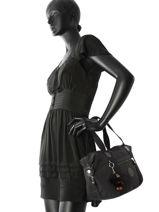 Sac Shopping Basic + Kipling Noir basic + 12645-vue-porte
