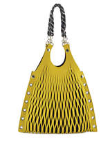 Shoulder Bag Sonia rykiel Yellow baltard 9255-84