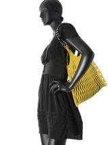 Shoulder Bag Sonia rykiel Yellow baltard 9255-84-vue-porte