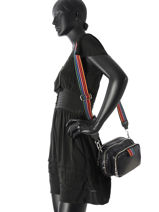 Crossbody Bag Sonia rykiel Black forever nylon 2278-39-vue-porte