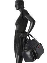 Top Handle Sonia rykiel Black forever nylon 2276-39-vue-porte