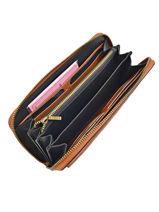 Wallet Leather Etrier Brown cavaliere ECAV91-vue-porte