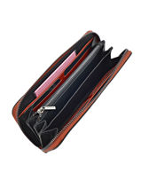 Wallet Leather Etrier Brown tess ETESS91-vue-porte