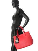 Shoulder Bag Karl lagerfeld Red shopper 76KW3062-vue-porte