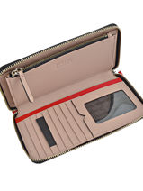 Wallet Leather Karl lagerfeld Red klassik 66KW3201-vue-porte