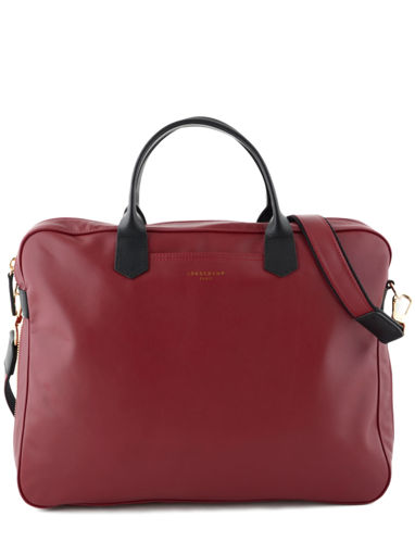 Longchamp Longchamp 2.0 Briefcase Red