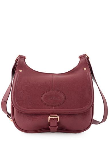 Longchamp Mystery Sac porté travers Rouge