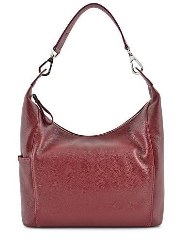 Longchamp Le foulonné Hobo bag Red