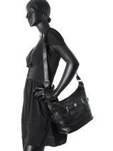 Crossbody Bag Basic Miniprix Black basic 3706BAS-vue-porte