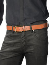 Ceinture Polo ralph lauren Marron belt 5069588-vue-porte
