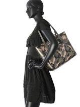 Shoulder Bag Bobbi Guess Green bobbi MC642215-vue-porte
