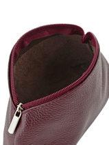 Case Leather Milano Violet G009-vue-porte