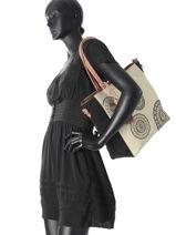 Shoulder Bag A4 Oporta Alma Desigual Multicolor oporta alma 17WAXPFD-vue-porte