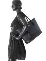 Shoulder Bag A4 Gallantry Blue G9227-9-vue-porte