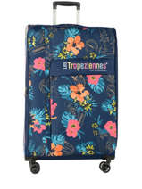 Softside Luggage Valras Les tropeziennes Blue valras VAL01-L