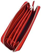 Longchamp Portefeuilles Rouge-vue-porte