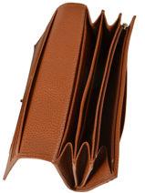 Longchamp Portefeuilles Marron-vue-porte