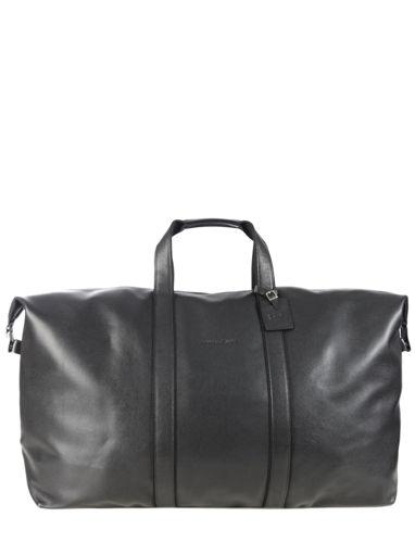 Longchamp Veau foulonné Sac de voyage Noir