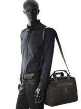 Longchamp Boxford Travel bag Black-vue-porte