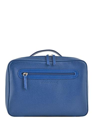 Longchamp Le foulonné Trousses de toilette Bleu