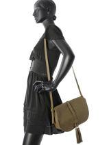 Crossbody Bag Etrier Green allure EALL01G-vue-porte