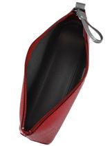 Longchamp Clutch / cosmetic case Red-vue-porte