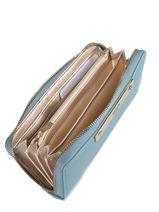 Wallet Guess Blue luma VG685446-vue-porte