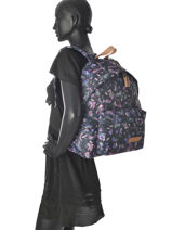 Backpack 1 Compartment Eastpak Violet pbg aminimal PBGAK620-vue-porte