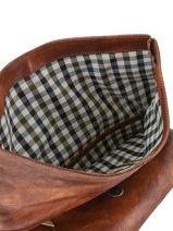 Briefcase Chiarugi Brown work 52007-vue-porte