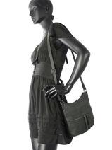 Shoulder Bag Miniprix Green F5906-vue-porte