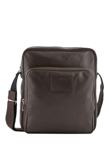 Longchamp Baxi cuir Hobo bag Brown