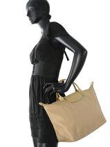 Longchamp Sacs porté main Or-vue-porte
