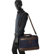 Longchamp Boxford Serviette Bleu-vue-porte