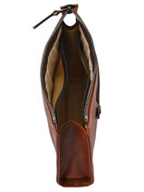 Longchamp Ipod case / cd holder Brown-vue-porte