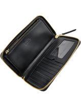 Wallet Leather Karl lagerfeld Black k signature 81KW3232-vue-porte