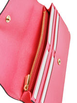 Wallet Leather Furla Pink metropolis BAB-BP61-vue-porte
