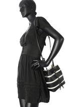 Crossbody Bag Dryden Leather Lauren ralph lauren Black dryden 31686592-vue-porte