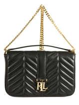 Shoulder Bag Carrington Leather Lauren ralph lauren Black carrington 31678990