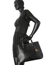 Shopping Bag New Bury Leather Lauren ralph lauren Black new bury 31670245-vue-porte